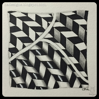 Zentangle® Inspired Art : Jonqual : Shading Class