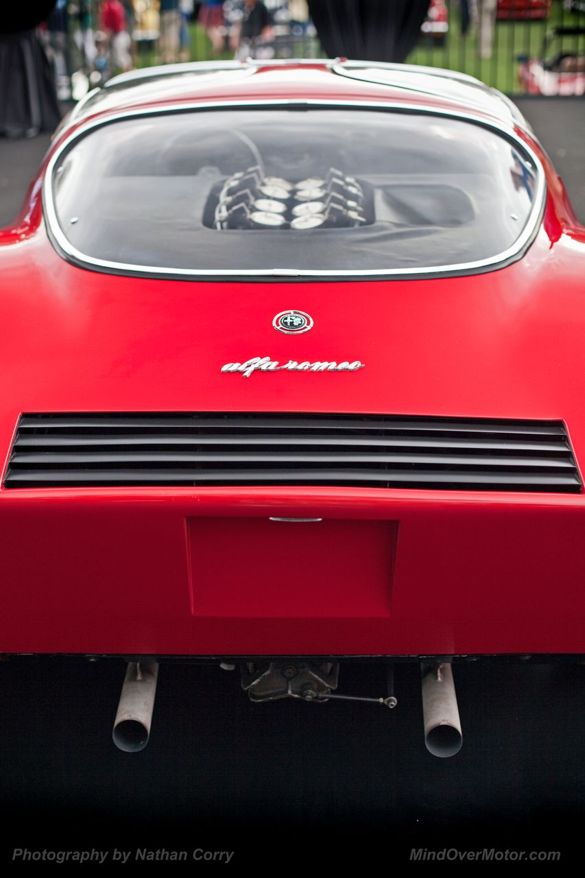 Alfa Romeo Tipo 33 Stradale Amelia Island Exhaust