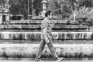 Homem e Chafariz en Cordoba Argentina