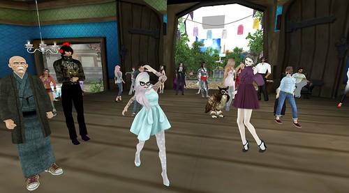 Xiola Leads The Dance