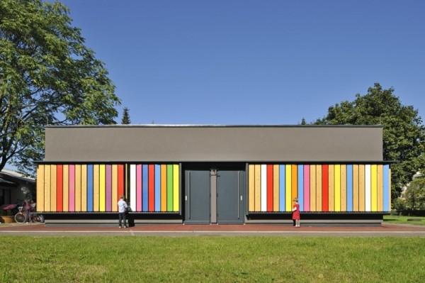 Trường mẫu giáo Kekec tại Ljubljana, Slovenia.