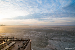 View of Lake Mendota from Statehouse Restaurant