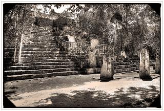 Calakmul MEX - Structure V 03