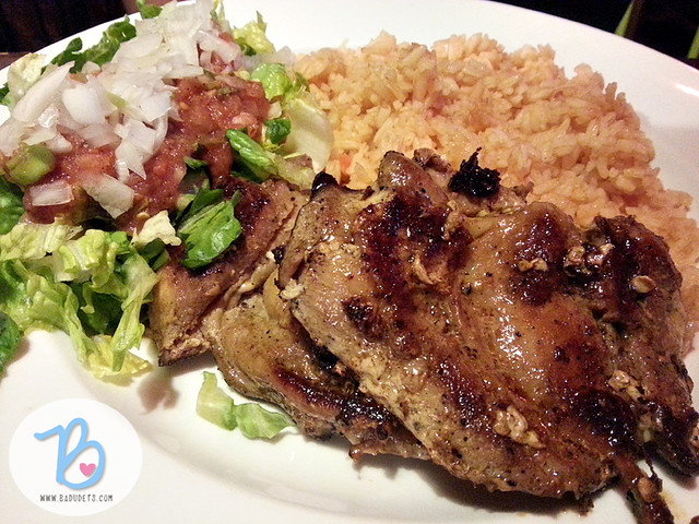 Grilled Boneless Chicken at el chupacabra