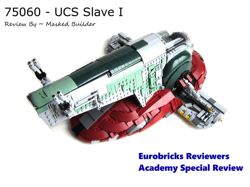 Review: 75060 Slave I, by Masked Builder, on Eurobricks