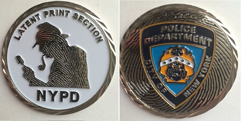 NYPD-Latent-Prints coin