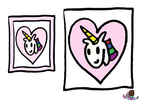 , Unicorn Charm Rainbow Unicorn Jewel Pic Necklace Pendant Fantasy Comic Story Cartoon Book Pages SD Super Pee Wee Hip Hop Music Poetry Character Poster B-Pop in Punkee Pink Hoodie B-Pop Ski Mask Fashion & Style Anime Manga Music, My cartoon Blog, My cartoon Blog