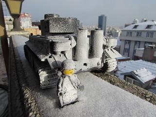 The Snowy Tiger Tank Test