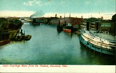 Cuyahoga River from Viaduct