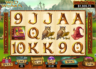 Wild Wizards slot game online review