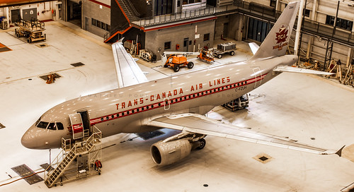 Trans-Canada Air Lines A319