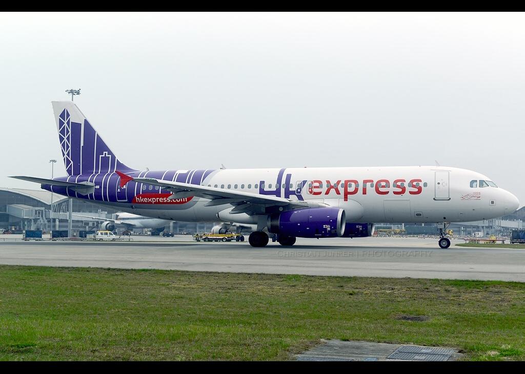 Airbus | A320-232 | HK Express | B-LCE | Hong Kong | HKG | VHHH
