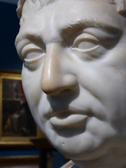 King George III by Peter Turnerelli, 1812, marble