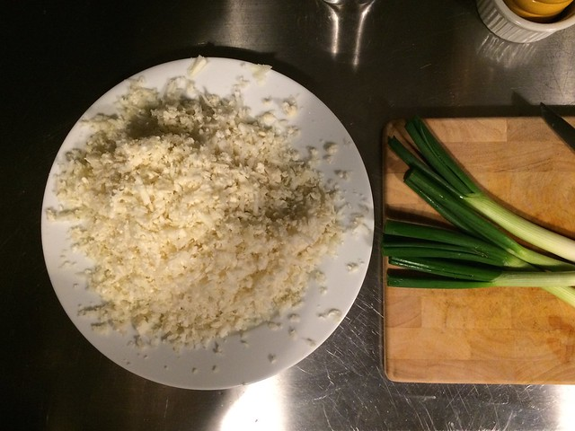 cauliflower rice ready to cook