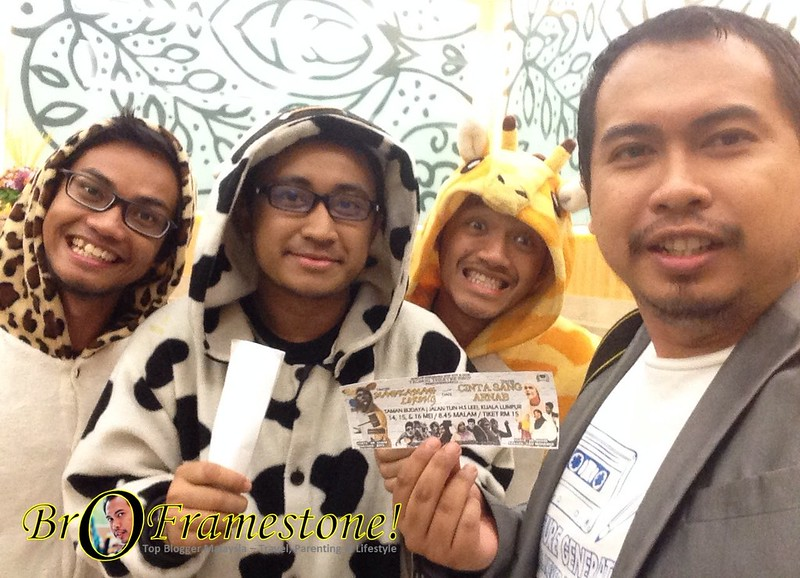 Tronoh Theatre Shop - Teater Mahkamah Lorong & Teater Cinta Sang Arnab