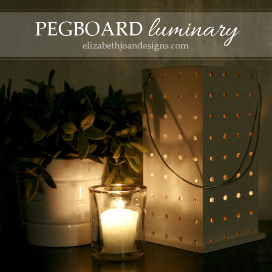 Pegboard Luminary