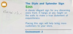 The Style and Splendor Sign