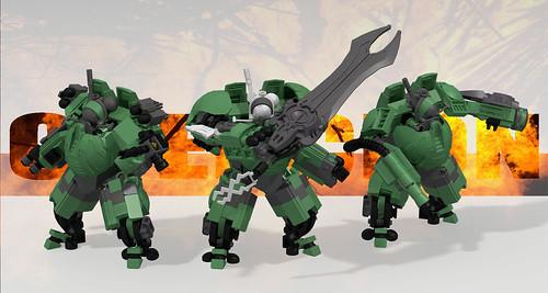 Tau XV4 Coercion Battlesuit