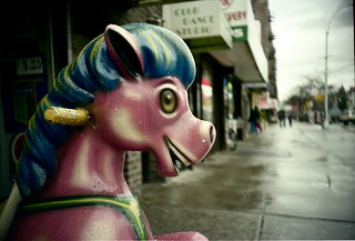 at the sign of the Pink Pony