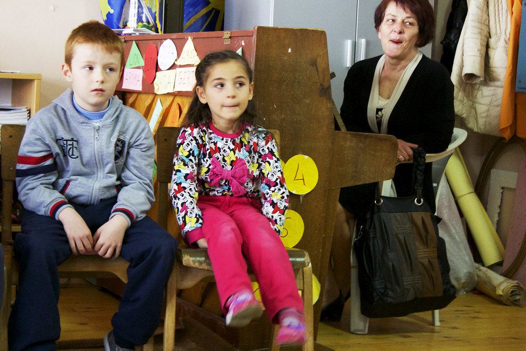 Gjakova, Kosovo - our day with Save the Children
