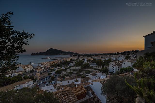 The L'Alfas del Pi sunset II