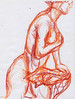 """Woman I,II,III"" by Julia Crain"