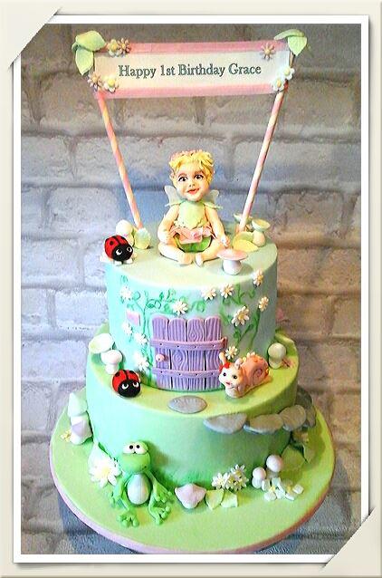 Baby Fairy Cake by DeeBee Cakes Portadown