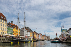 On the Channel in Colorful Nyhavn