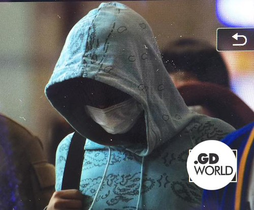 Big Bang - Incheon Airport - 28sep2015 - GD World - 02