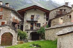 Alter Weiler Valle Meira Piemont Italien. Foto: Renato Botte.