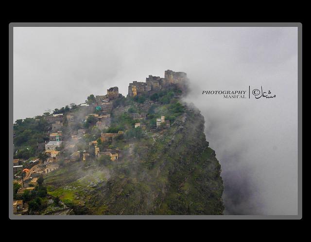 pemandangan dari puncak gunung -freshview -MAHWEET #YEMEN