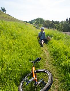 Climbing Green Valley Trail