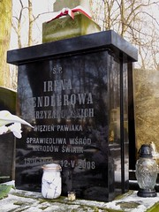 The grave of Irena Sendler in Powązki cemetery