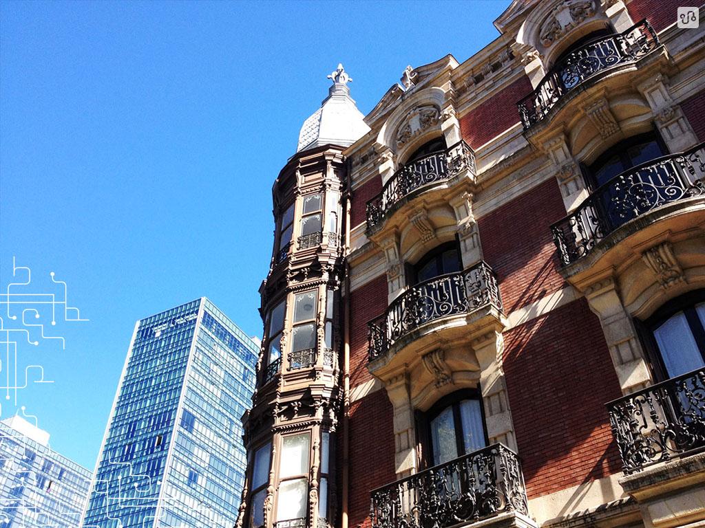 Contrastes na arquitetura