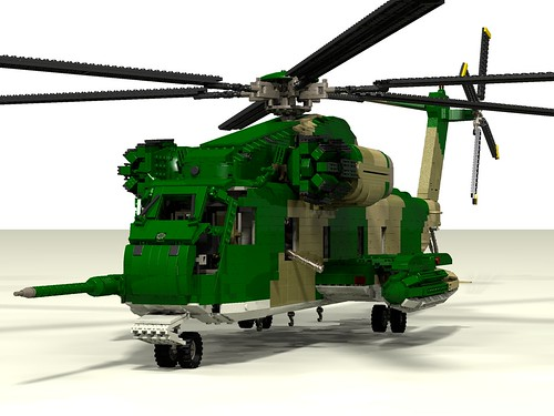 HH-53C Super Jolly Green Giant left front