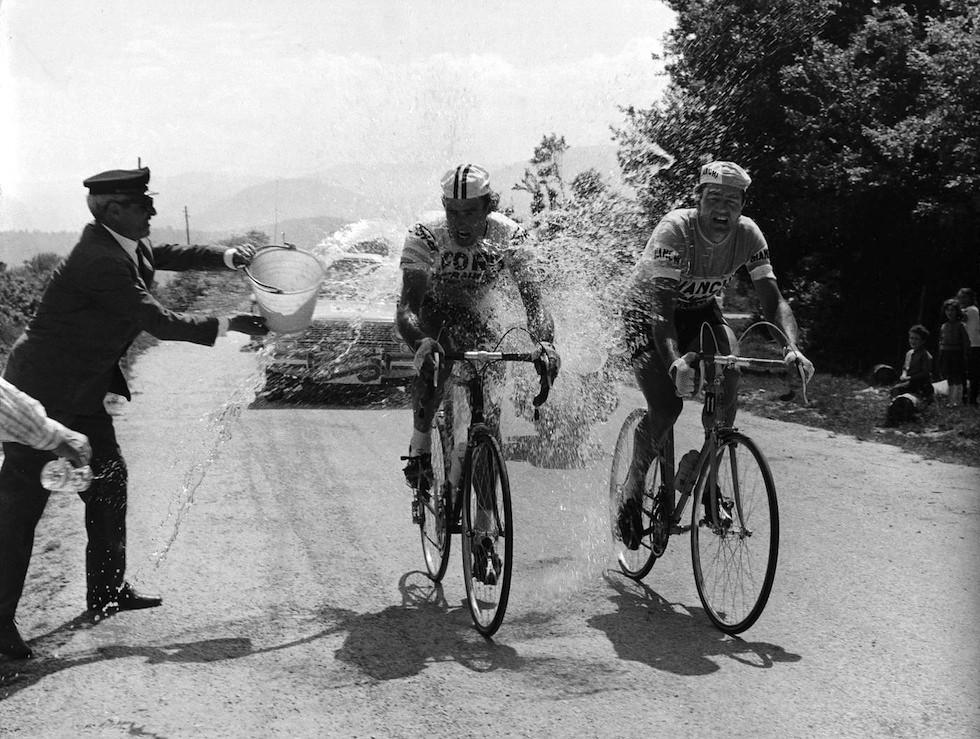 Vin Denson e  Toni Bailetti Napoli Campobasso Giro 1966
