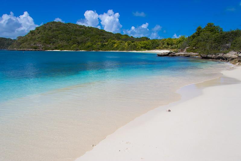 Beach at Green Island Antigua