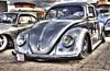 Oldtimer Volkswagen Kever. by Inge David Fotografie