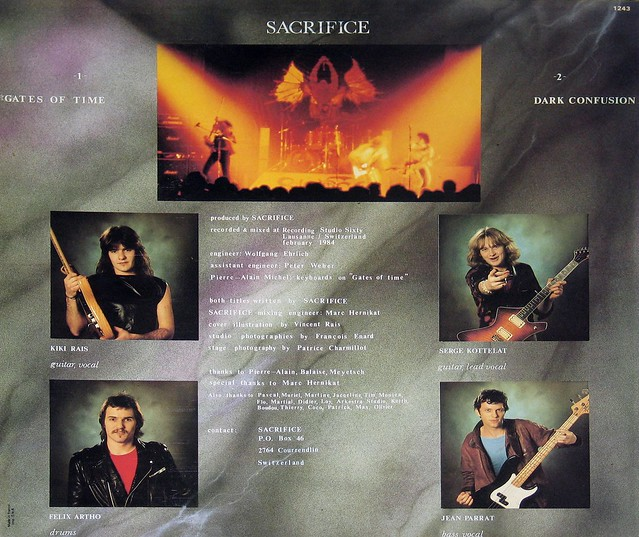Sacrifice (CH) Gates of Time Maxi-single