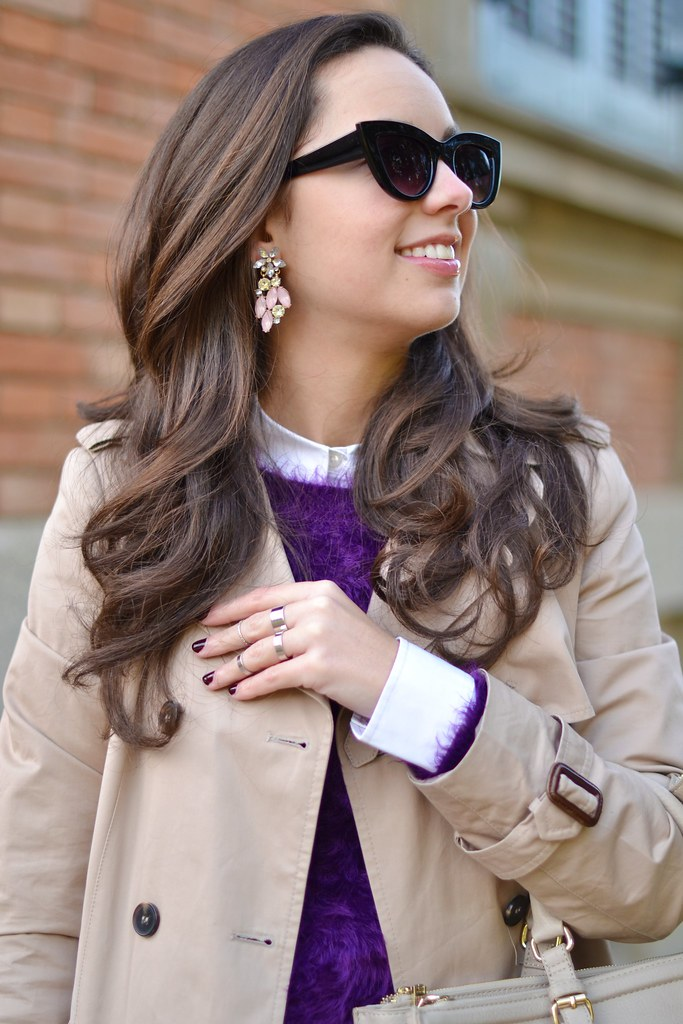 Cómo ir vestida al trabajo con un look de entretiempo