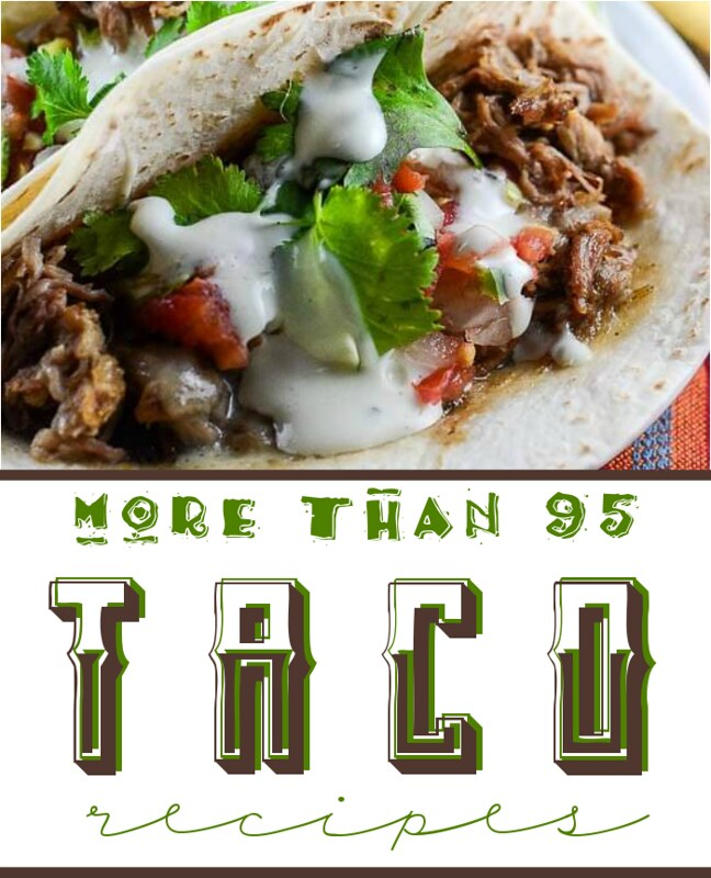 More than 95 Taco recipes!