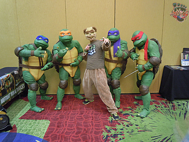 Colorado Cosmic Con 2015 :: PAIN BEAR & TEXAS TMNT