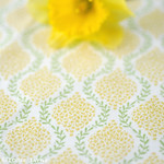 'Floral Garland Yellow' fabric from Elephant in my Handbag