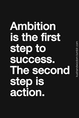 We all have the desire to achieve a goal, but what really counts is having ambition and taking that first step! #SpringIntoAction #InnovativeMarketing