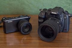 Sigma DP3 Merrill, Sigma SD1 Merrill & 50mm f/1.4 DG HSM Art