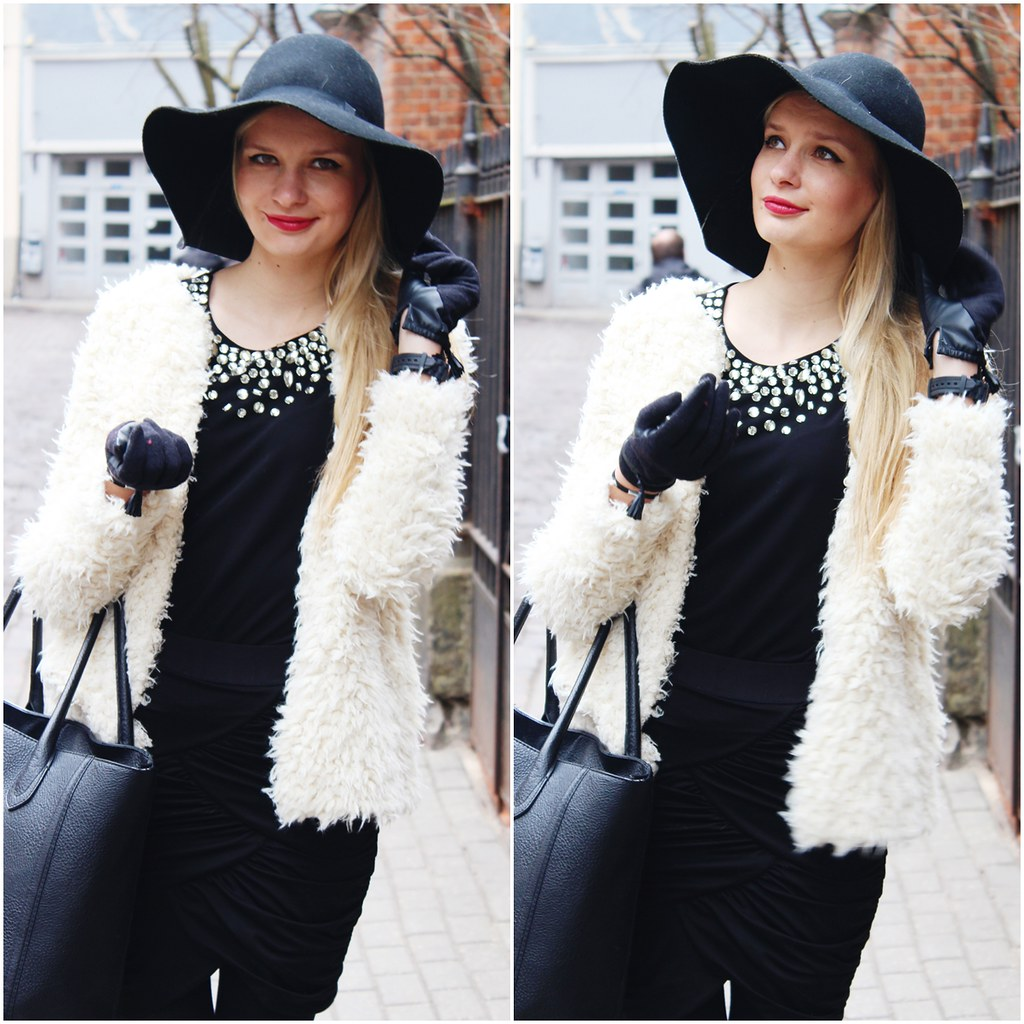 latvian blonde fashion blogger