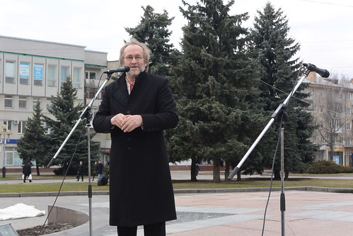 На майдані читали вірші Костенко