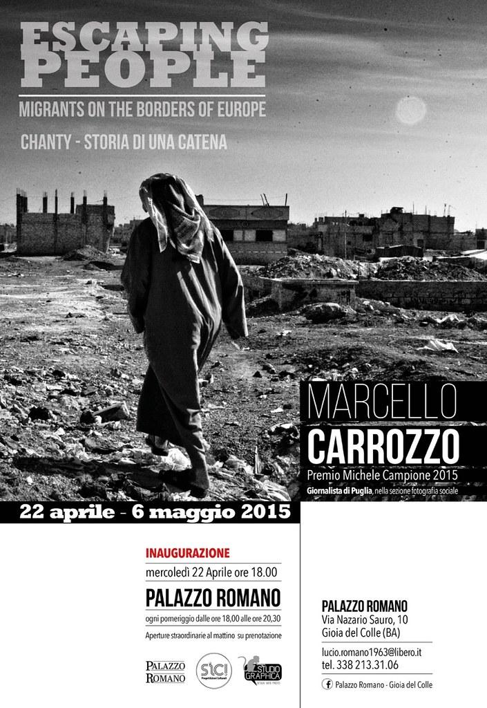 Locandina_Escaping People_Marcello Carrozzo