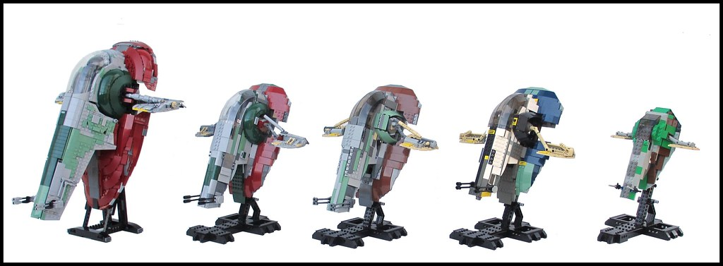Slave I Retrospective and UCS Comparison, by ZCerberus, on Eurobricks
