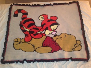 Pooh and Tigger Blankie